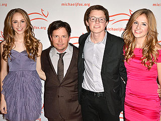 PHOTO: Michael J. Fox & Kids' Family Resemblance   Michael J. Fox