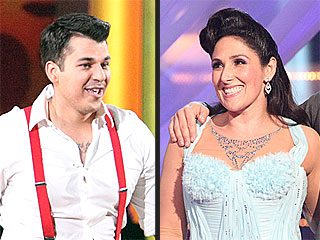Ricki Lake and Rob Kardashian Take the Lead at Dancing's Semi-Finals | Ricki Lake, Rob Kardashian