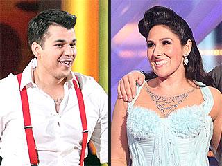 Ricki Lake and Rob Kardashian Take the Lead at Dancing's Semi-Finals | Ricki Lake, Rob Kardashian
