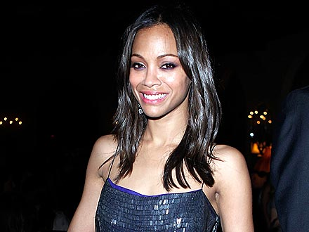 Inside Zoe Saldana's Pre-Breakup Family Dinner | Zoe Saldana