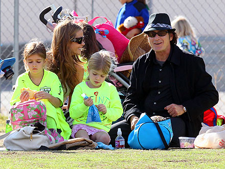 Charlie Sheen & Denise Richards Reunite for a Soccer Game | Charlie Sheen, ...