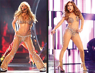 POLL: Jennifer Lopez or Britney Spears &#8211; Who Wore It Better? | Britney Spears, Jennifer Lopez