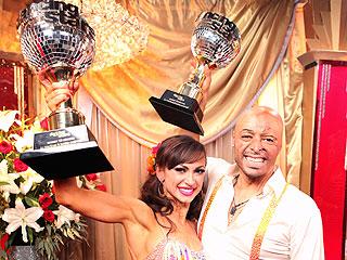 J.R. Martinez Wins Dancing with the Stars | J.R. Martinez, Karina Smirnoff