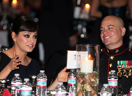 Mila Kunis Was 'Very Respectful' at the Marine Corps Ball | Mila Kunis