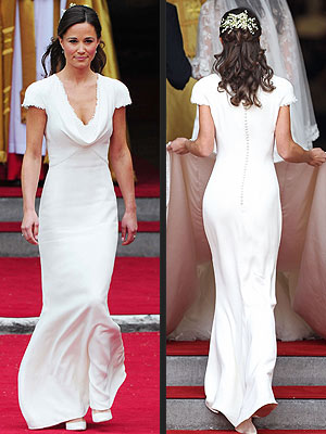 Pippa Middleton's Infamous Bridesmaid Dress for Sale | Pippa Middleton