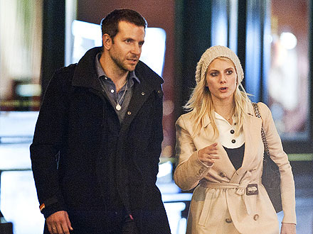 Bradley Cooper, Melanie Laurent Pictures in Paris