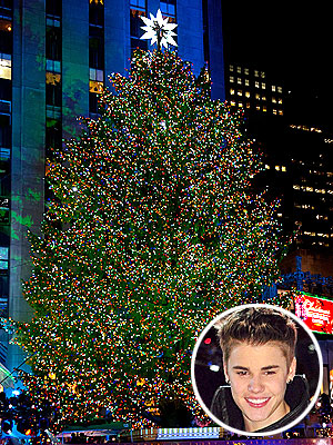 Rockefeller Center Christmas Tree Lighting: Justin Bieber, Mariah Carey