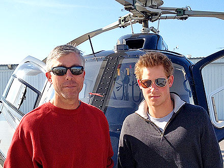 Prince Harry's Helicopter Tour of L.A.