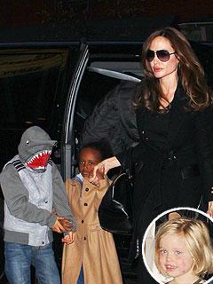 PHOTO: Angelina Jolie & Kids Go to See the Muppets | Angelina Jolie