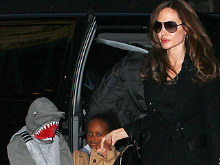 PHOTO: Angelina Jolie & Kids Go to See the Muppets | Angelina Jolie