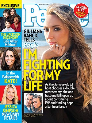 Giuliana Rancic: Double Mastectomy Fears and How She's Coping
