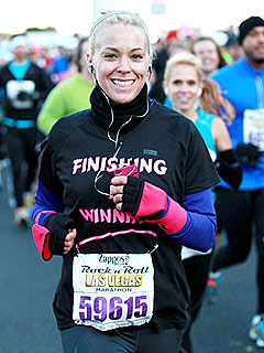 How Long Did Kate Gosselin Take to Run Las Vegas Marathon? | Kate Gosselin