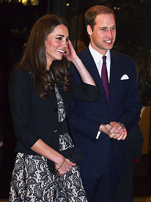 Will & Kate Attend a Pop Concert in London