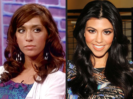 Kourtney Kardashian, Farrah Abraham War of Words