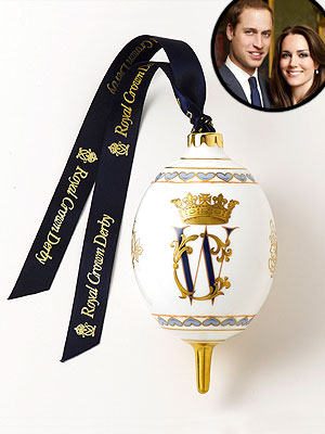 Prince William & Kate Get a Christmas Ornament in Their Honor