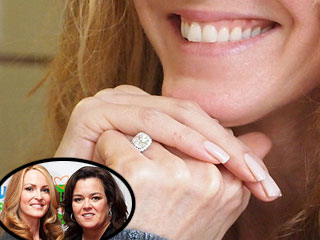 PHOTO: Michelle & Rosie Show Off Engagement Ring