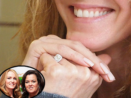 Michelle Rounds, Rosie O&#39;Donnell Engaged: See Her Ring