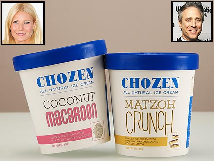 Gwyneth Paltrow Likes to Celebrate Hanukkah with Ice Cream!