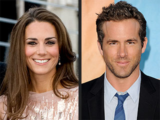 Who Do PEOPLE.com Readers Love, Hate, Want to Date? | Kate Middleton, Ryan Reynolds