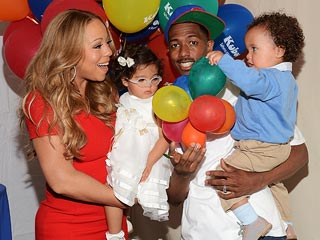 Mariah & Nick Celebrate Family Day with Roc & Ro | Mariah Carey, Nick Cannon