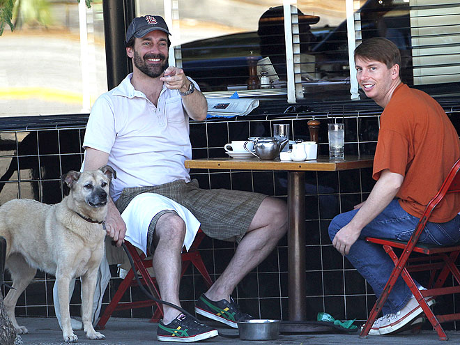 JON HAMM & JACK McBRAYER photo | Jon Hamm