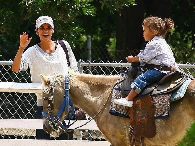 HORSING AROUND photo | Halle Berry