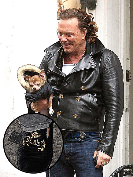 EMBROIDERED SHOES photo | Mickey Rourke