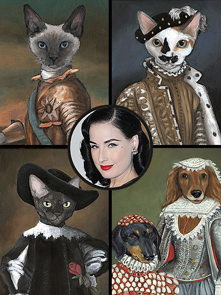CAROL LEW PET PORTRAITS, $400