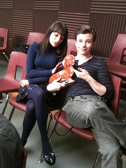 WHAT'S UP, DOX? photo | Chris Colfer, Lea Michele