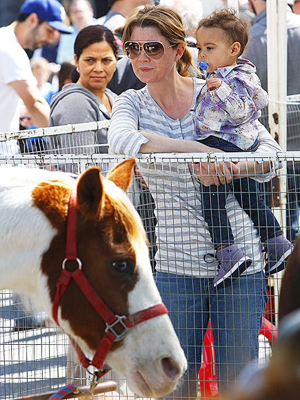 PONY UP photo | Ellen Pompeo