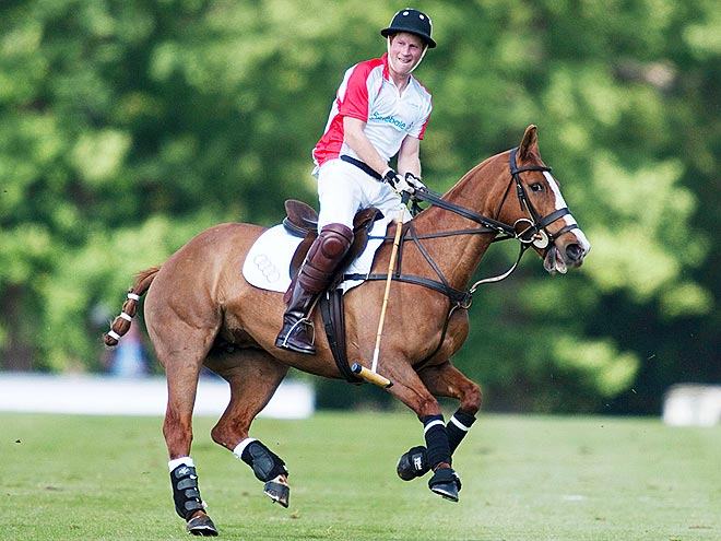 HOT TO TROT photo | Prince Harry