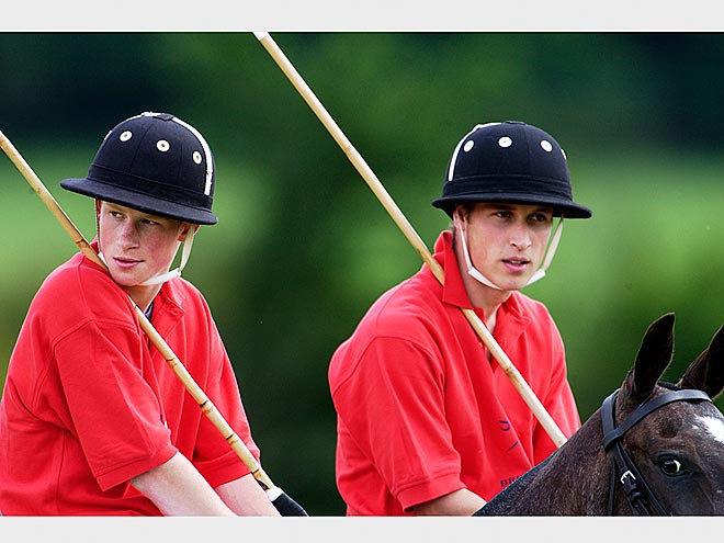 SEEING RED photo | Prince Harry, Prince William