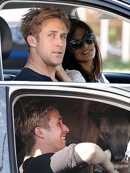 DRIVE-IN KISS photo | Eva Mendes, Ryan Gosling