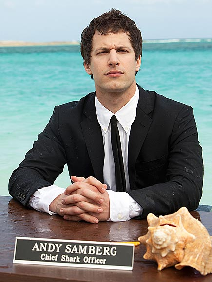 HARD AT WORK  photo | Andy Samberg