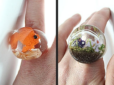 Etsy Fave! Bling-Bling Animal Rings