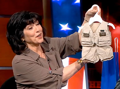 Christiane Amanpour Bears Gifts for Her Kitty Counterpart