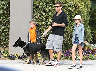 Ryan Phillippe Adopts a Dog – and Cheers Up His Son