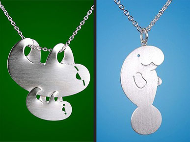 Etsy Fave! Hang a Sloth from Your Neck with Cute Silver Jewelry