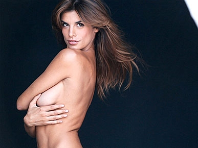 PHOTO: Elisabetta Canalis Bares It All For Anti-Fur Campaign