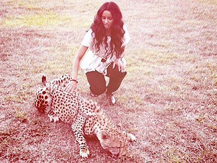 Ciara Catches a Cheetah on Safari | Ciara
