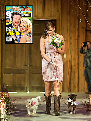 Miranda Lambert Wedding Included Her Dogs