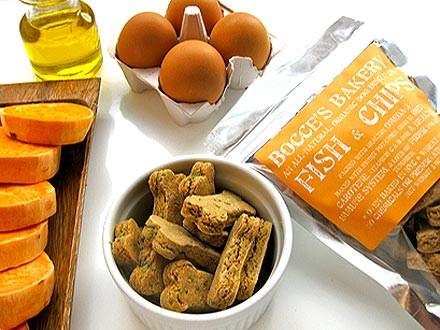 Fish & Chip Biscuits: Summer Yums for Your Pups!