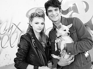 Cuddle Alert! Chlo&#235; Moretz and Tyler Posey Find Puppy Love | Chloe Moretz, Tyler Posey