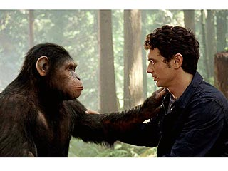 VIDEO: How James Franco Faked It with a Chimpanzee | James Franco