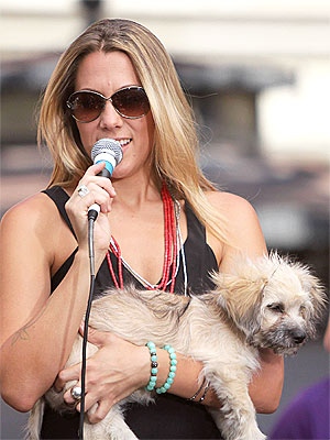 EXCLUSIVE: Colbie Caillat's Pup Makes His Way to America's Got Talent| Stars and Pets, Dogs, Colbie Caillat