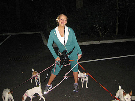 Mariah Carey Goes Jogging – with Five Puppies! | Mariah Carey