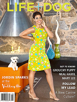 Jordin Sparks Covers LIFE+DOG Magazine