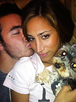 Cuddle Alert! Kevin & Danielle Jonas Feel the Puppy Love | Kevin Jonas
