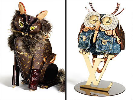 Louis Vuitton Creates Special Collection of Animal-Inspired Purse Art| Louis Vuitton, Pet Style