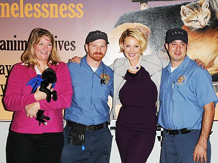 Katherine Heigl Launches Fall 5000 Adoption Program with LA Animal Alliance